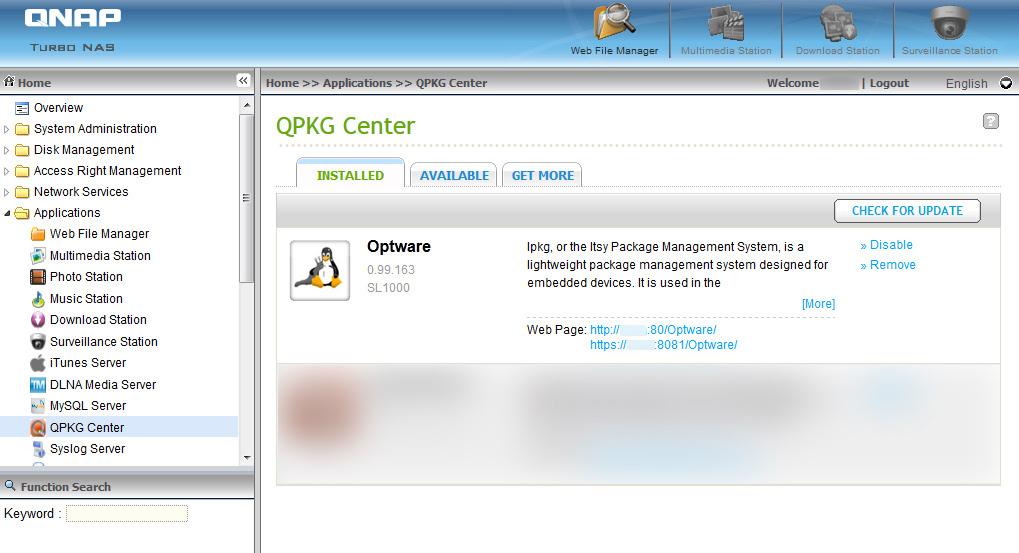 QNAP NAS - USB Webcam with Motion Detection - Devils Heaven