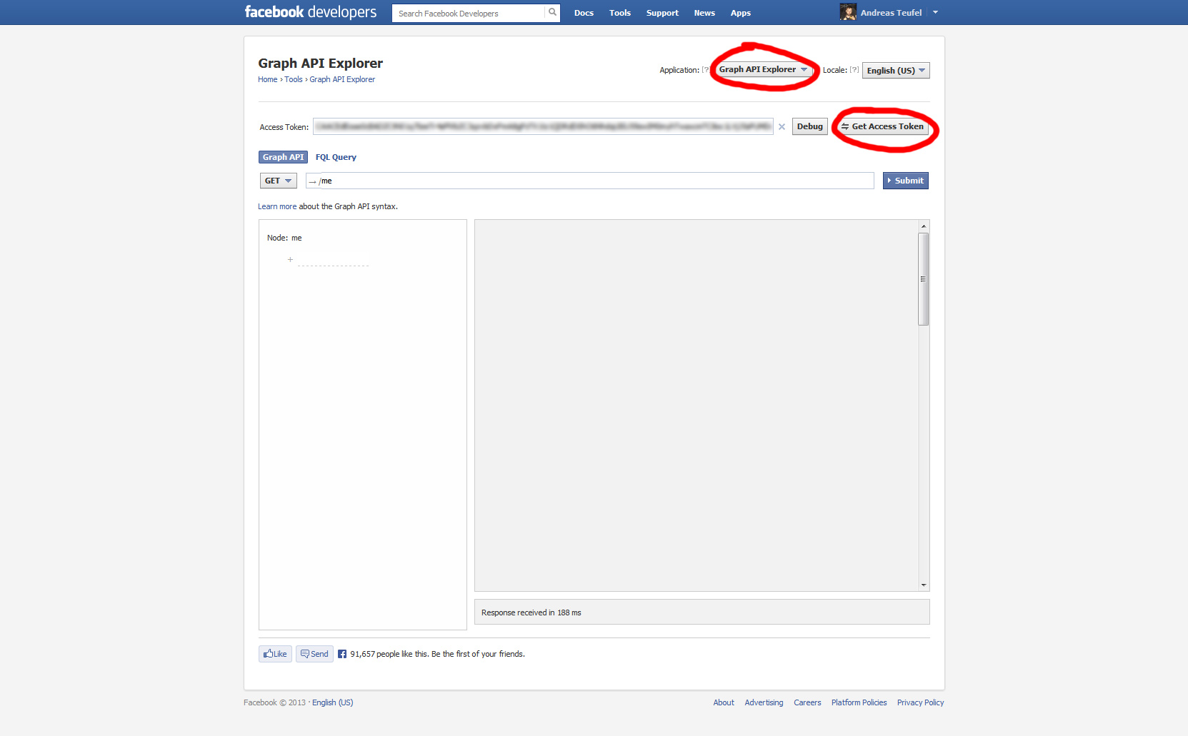 Facebook API - Access Tokens - Devils Heaven