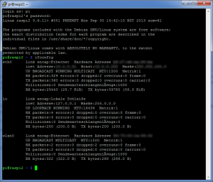 Raspberry Pi - WLAN Configuration